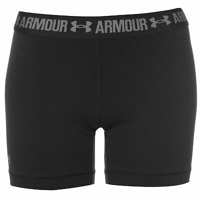 Under Armour Womens HeatGear Middy Shorts Performance Pants Trousers