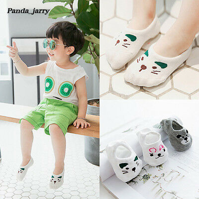 Unisex Baby Kid Invisible Socks Cute Cartoon Cat Printed Sock Christmas Gift
