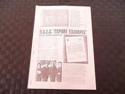 The Grapevine Newspaper Of Steel Group Of Companies Cranes April 1964 *read*