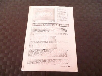 The Grapevine Newspaper Of Steel Group Of Companies Cranes October 1964 *read*