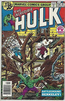 INCREDIBLE HULK #234 KEY 1st Appearance of QUASAR (1979) VF+ (8.5)
