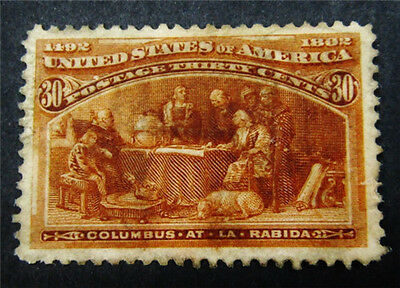 nystamps US Stamp # 239 Mint $240