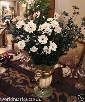 Fashion Home Decoration Height-60cm Bow-Knot Vase + Emulation Cloth Flowers