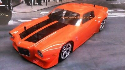 1971 Chevrolet Camaro Z28 Custom Painted 1/10 RC Car Body Drift,Touring