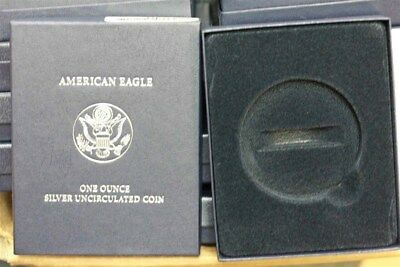 Lot Of 70 Original Us Mint 2007 W Silver Eagle Box And Coa Only No Coins