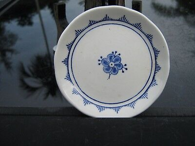 "Denmark English Ironstone Franciscan Made In England Pin Dish 2.75"" Blue Flower"