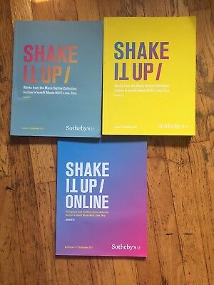 Lot Of (3) Sotheby's Catalogs - Shake It Up / Mario Testino Collection - 9/2017