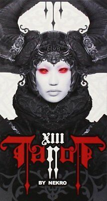 XIII Tarot - By Nerko - Beautiful Gothic Darkness - 78 Card Deck & Guide Booklet