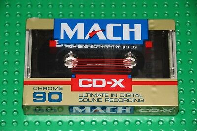 Mach Cdx  90   Blank Cassette Tape (1) (Sealed)