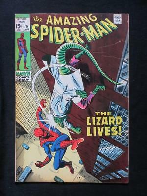 Amazing Spider-Man #76 MARVEL 1969 - HIGH GRADE - The Lizard app - John Buscema!
