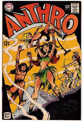 ANTHRO #4 (VF/NM) High Grade! DC Silver-Age Comic! 1969 Howie Post Art & Story