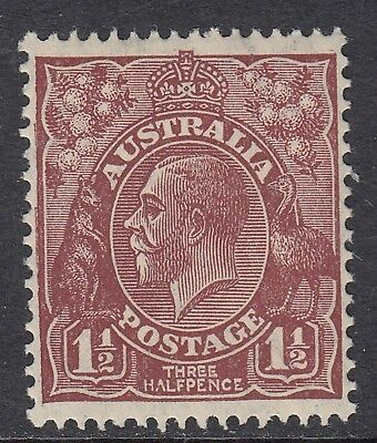 1930 1½d RED-BROWN KGV, Small Multiple Watermark, Mint Never Hinged