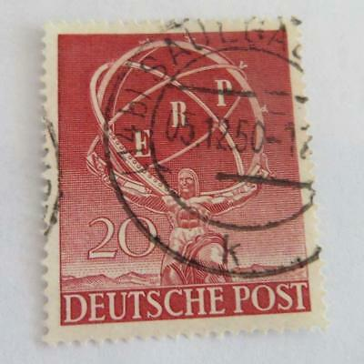 Germany 1950 West Berlin 20pf European Recovery used