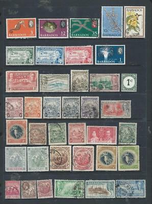 Barbados great selection of M/U stamps, early items onward (995)