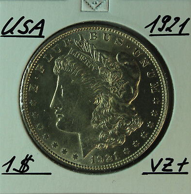 AGN - USA 1 Dollar 1921 - Erhaltung - Condition
