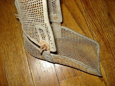 Antique Old Medical Metal Leg/foot Adjustable Brace~Halloween Decor!!!