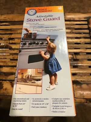 Prince Lionheart Adjustable Stove Guard Baby Toddler Safety New In Package