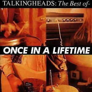 "CD TALKING HEADS ""ONCE IN A LIFETIME: THE BEST OF"". New and sealed"