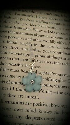 Forget me not Dangle Charm For Mobile Phone. Tablet. Iphone. Dust Plug.