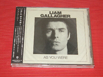 2017 JAPAN CD LIAM GALLAGHER As You Were  with Bonus Tracks Oasis