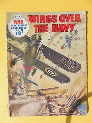 War Picture Library No 8 wings over the navy.
