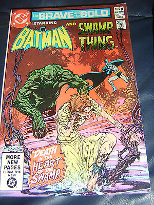 Brave And The Bold #176 July 1981 (FN+) Batman & Swamp Thing