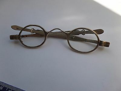 Antique Solid Silver Spectacles / Glasses c1836