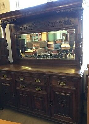 Beautiful Superb French Style Heavily Carved Dresser Sideboard  Can Deliver
