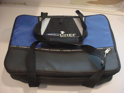 nice! California Innovations Travelin' Chef Expandable Thermal Food Carrier