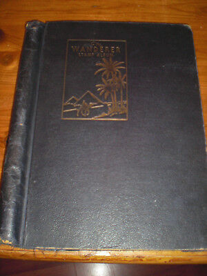 Old Wanderer Stamp Album With Old Stamps