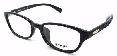 98641accd384 New Coach Rx Eyeglasses Frames HC 6067F 5002 52x16 Black with Case Asian Fit