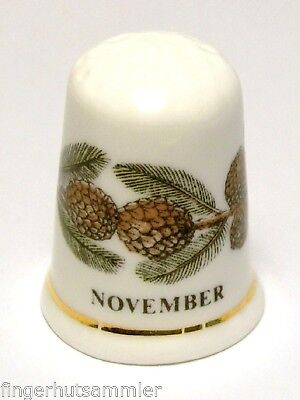Fingerhut Thimble - Monatsfingerhut November