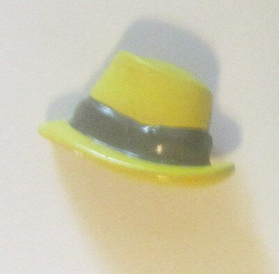 Wendy Gell  Dick Tracy  Dick Tracy Hat pin Yellow enamel