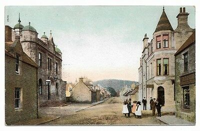[4819] Moray Colored Postcard New Street Rothes