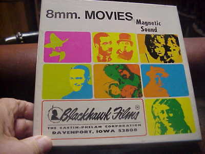 super 8mm film YOUR DARN  TOOTIN Laurel and Hardy magnetic sound