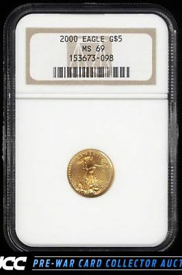 2000 $5 Gold Eagle NGC MS 69 (PWCC)