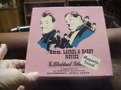 super 8mm film WAY OUT WEST Laurel and Hardy magnetic sound