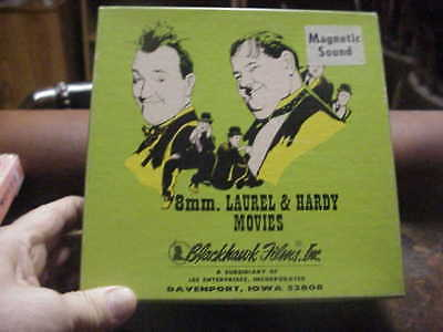 super 8mm film BOHEMIAN GIRL Laurel and Hardy magnetic sound