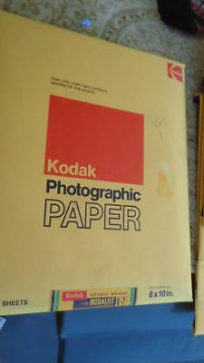 Kodak Photographic Paper  Double Weight Medalist G-2 8x10 25 Sheets  Sealed NOS