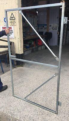 Gate frame - Hinged 1800h x 1100w (30x30 SHS GAL) BOXED IN KIT FORM