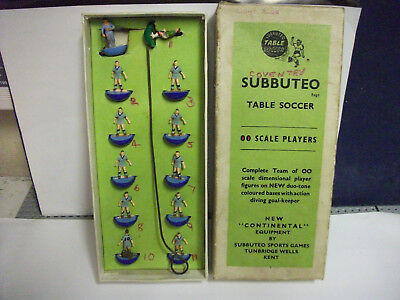 Subbuteo H/w Football Team Ref 43 Coventry Reading Early Set Good/c 2 Breaks