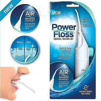 Power Floss Dental Water Jet on TV Cords Tooth Pick Braces NO Battery Or Cord YY