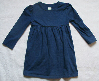 Girls Toddler Old Navy blue long sleeve dress size 3T 3 years