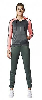 Adidas Mujer Fitness Informal Chándal re-focus Chándal Verde Fucsia