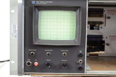 HP 140T Spectrum Analyzer Display Section - DEFEKT