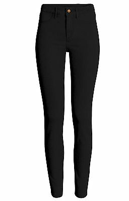 New Zara Ladies Black High Waisted High Rise Slim Fit Jeans Size 8 - 18