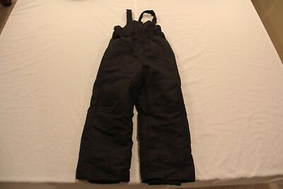 Cherokee Toddler Winter Bib Snow Pants!  Black!  Size 5T!