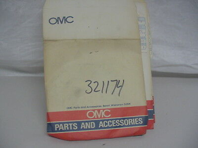 New NOS OMC Retainer Plate  321174   C23