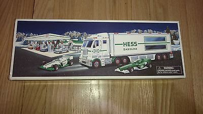 Hess Gasoline - Toy Truck And Racecars - Brand New In Box - Never Opened -