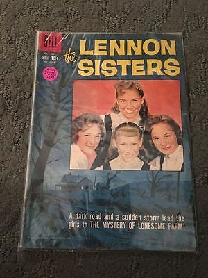 The Lennon Sisters July-Sept 1959 No. 1014 Dell Comic Book Good Condition